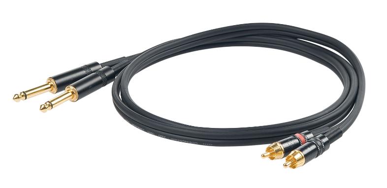 PROEL CHLP-310-LU3 Jack-RCA 3m