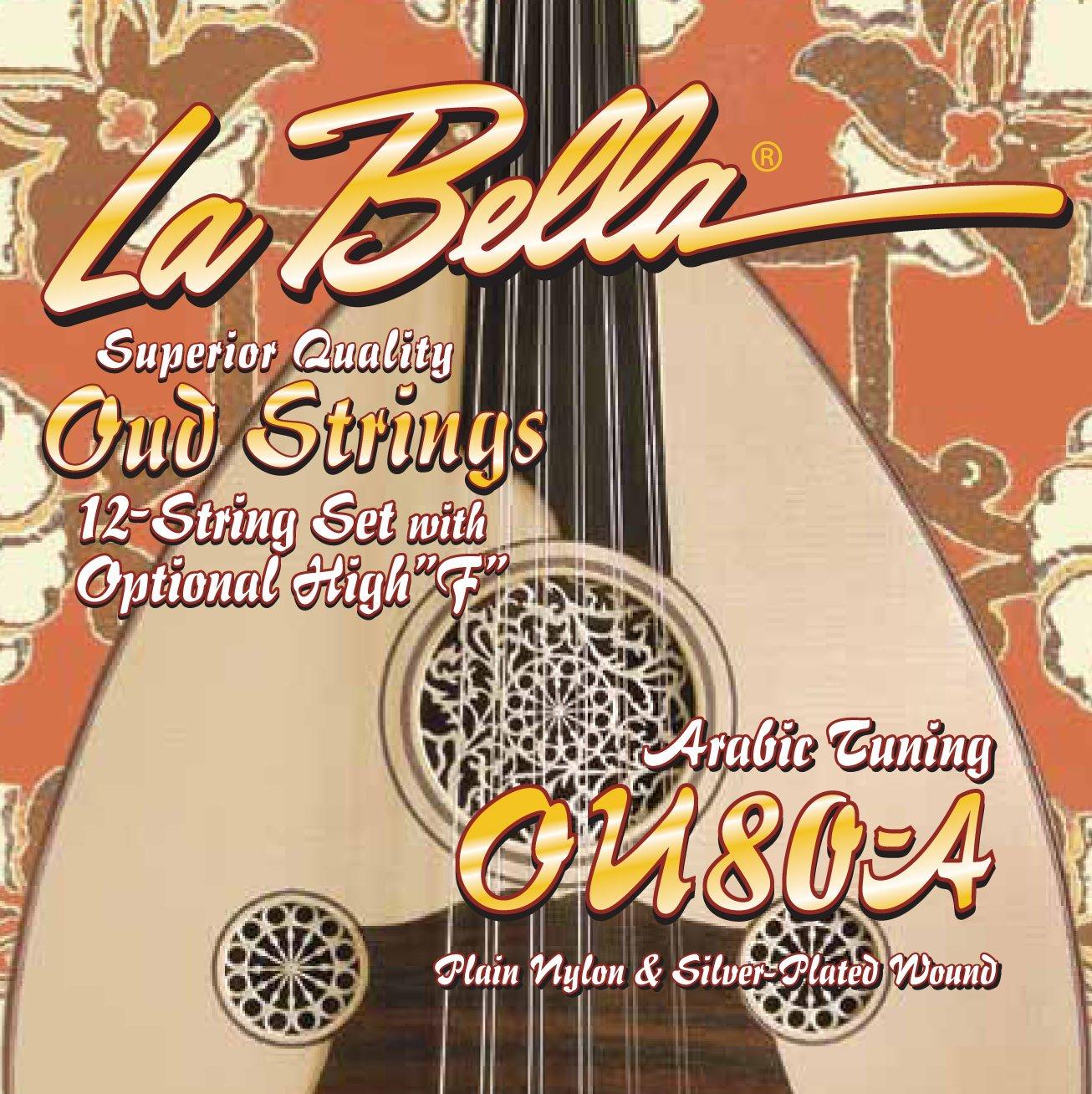La Bella OU80-A, arabic tuning