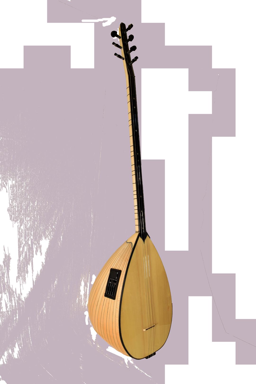 Saz Makam Müzik MS-4 plus